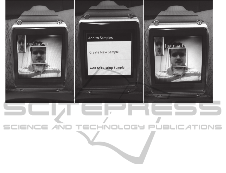 Wearable Face Recognition System Built into a Smartwatch and